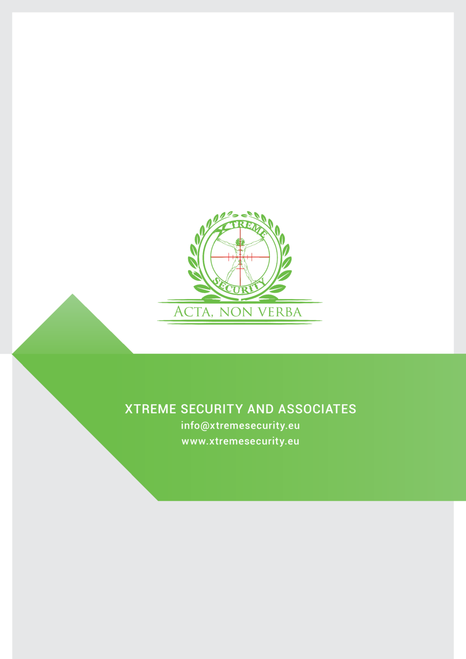 XTREME SECURITY AND ASSOCIATES info xtremesecurity.eu www.xtremesecurity.eu